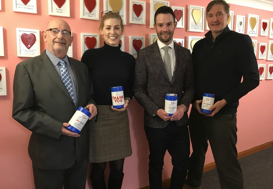 Heart-felt thanks as Symonds and Sampson announces its support during 2019