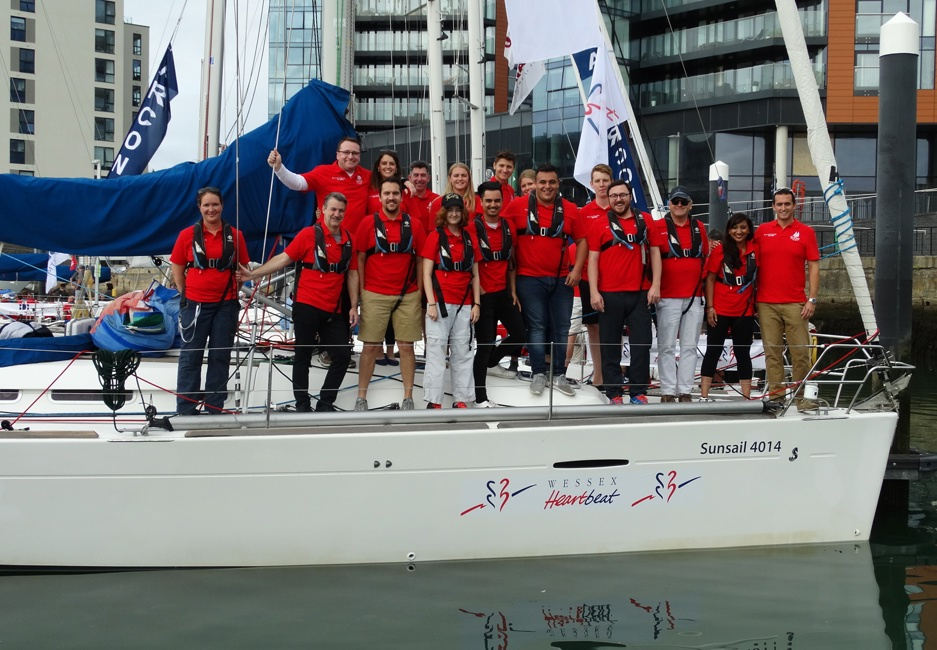 Wessex Heartbeat back on board with Southampton Sailing Week!
