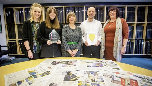 Guernsey Press wins award for coverage of Wessex Heartbeat