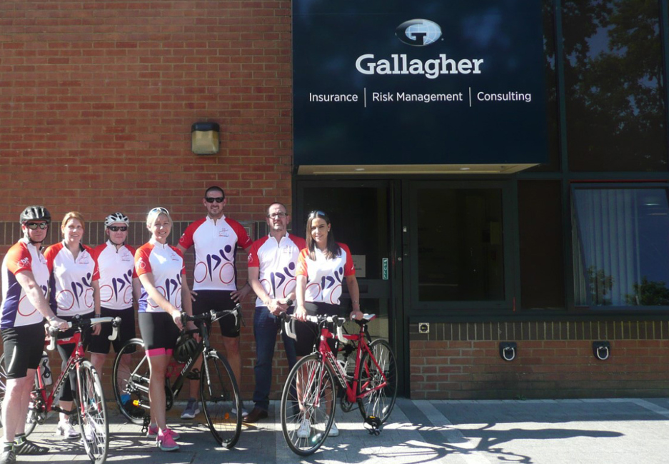 Gallagher cyclists gear up for a 250-mile cross-Channel challenge