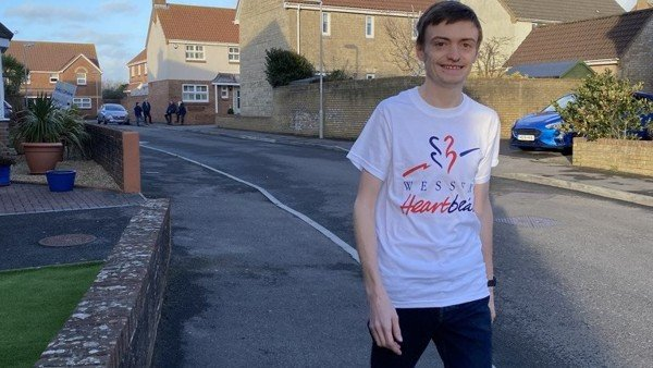 "Friend of Heartbeat takes on 122 mile ""Walk to Heart Health"" fundraiser"