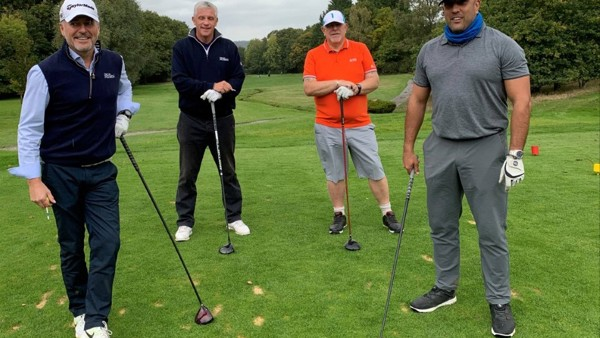 Former Footballer Helps Charity Golf Day Raise Thousands for Cardiac Care