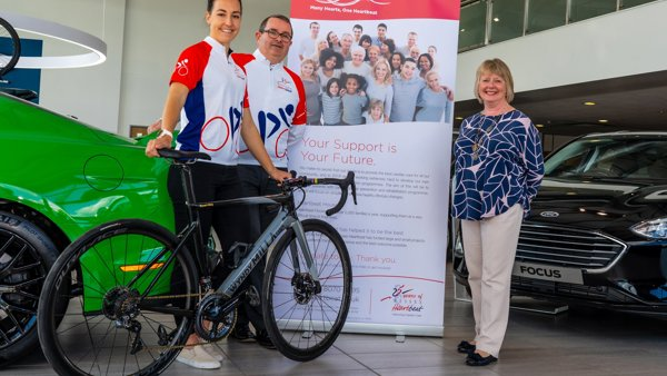 Hendy Group saddles up for Wessex Heartbeat Cycle Sportive