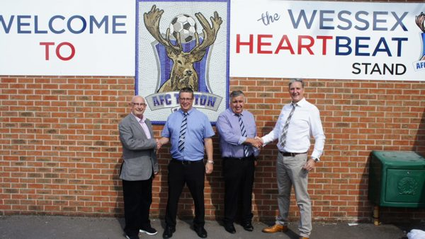 AFC Totton agree deal with Wessex Heartbeat